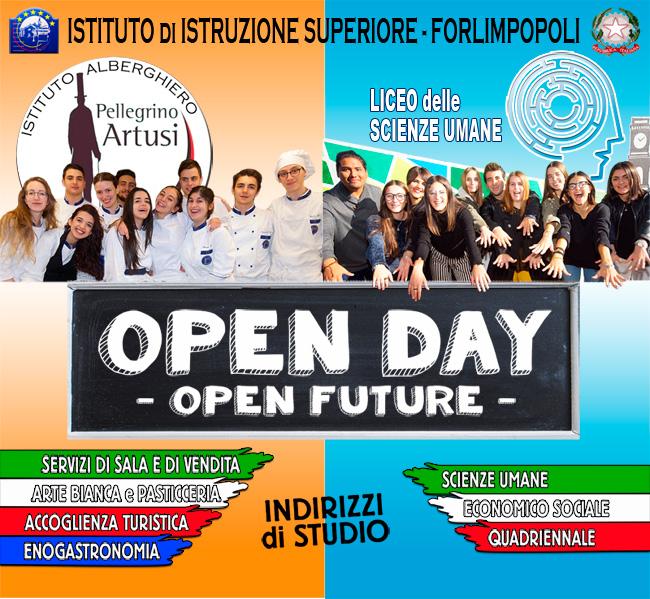 """Open Day Istituto di Istruzione Superiore """"Pellegrino Artusi"""" di Forlimpopoli"""
