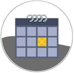 Prenota la tua data sul calendario